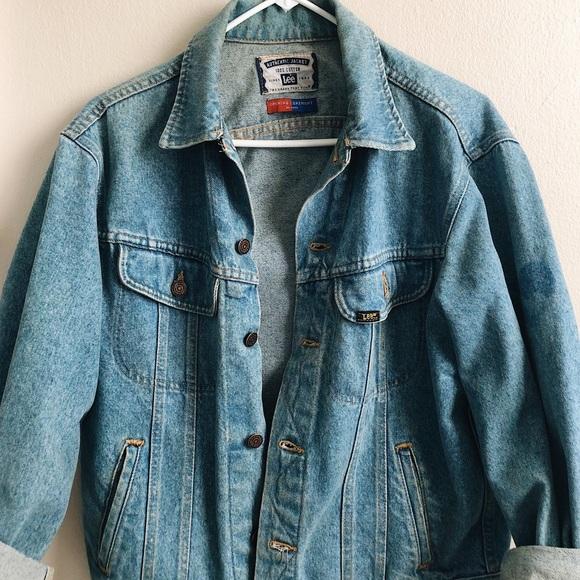 d7bdcf67 Oversized Authentic Lee Denim Jacket